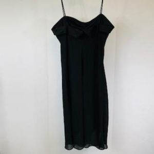 Black Strappy Homecoming/Event Dress